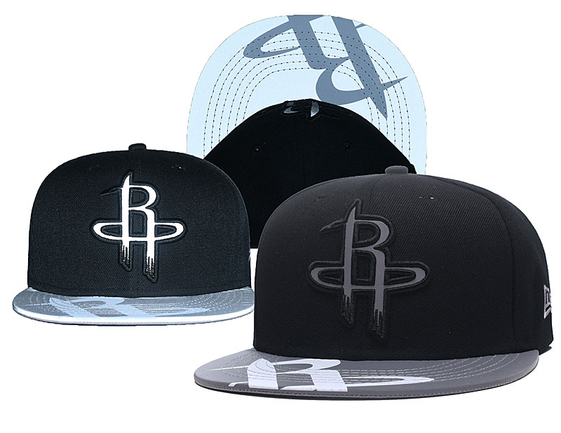 Rockets Reflective Logo Black Adjustable Hat GS