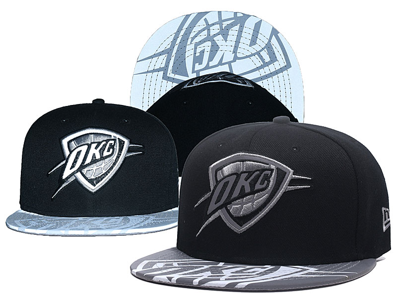Thunder Reflective Logo Black Adjustable Hat GS