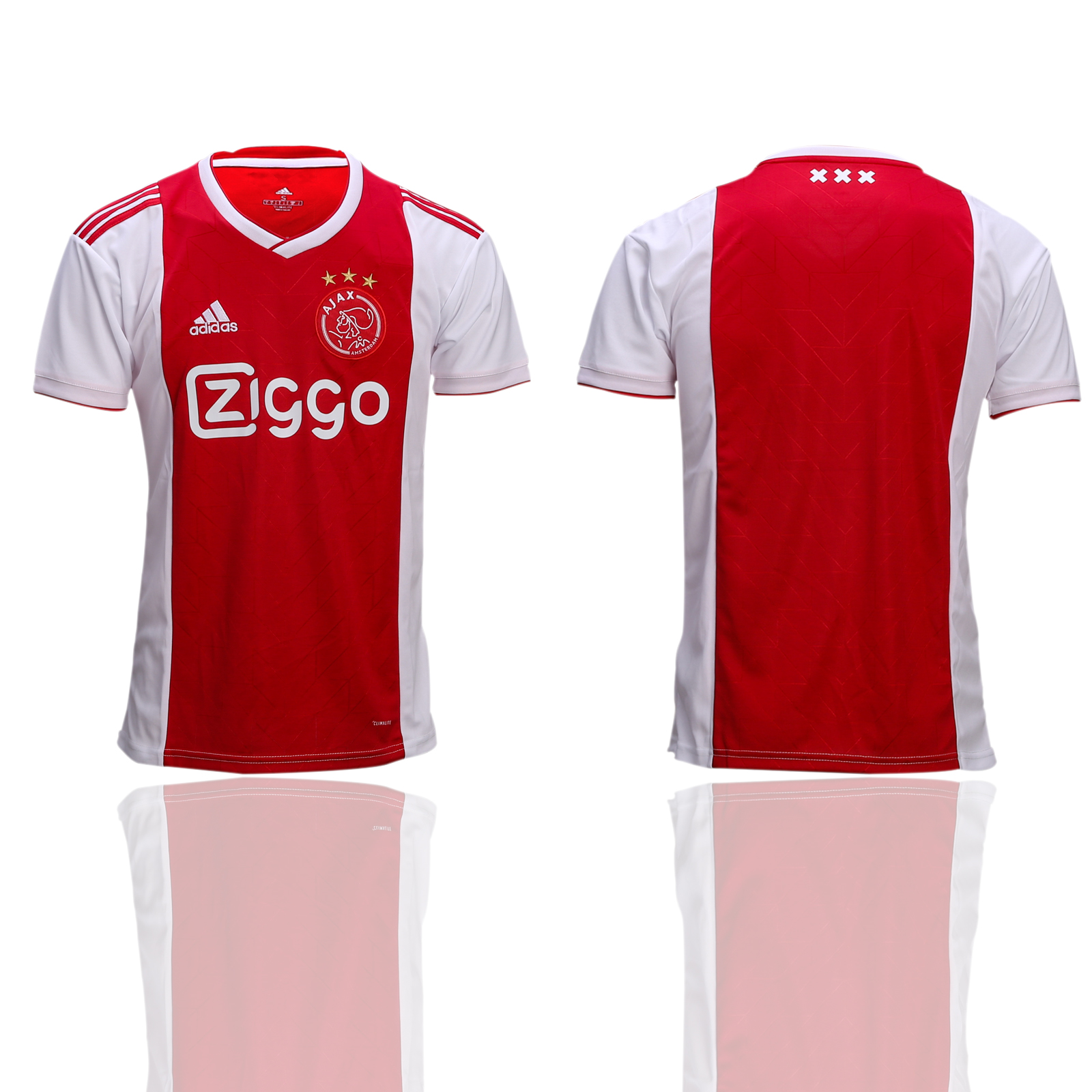 2018-19 Ajax Home Thailand Soccer Jersey