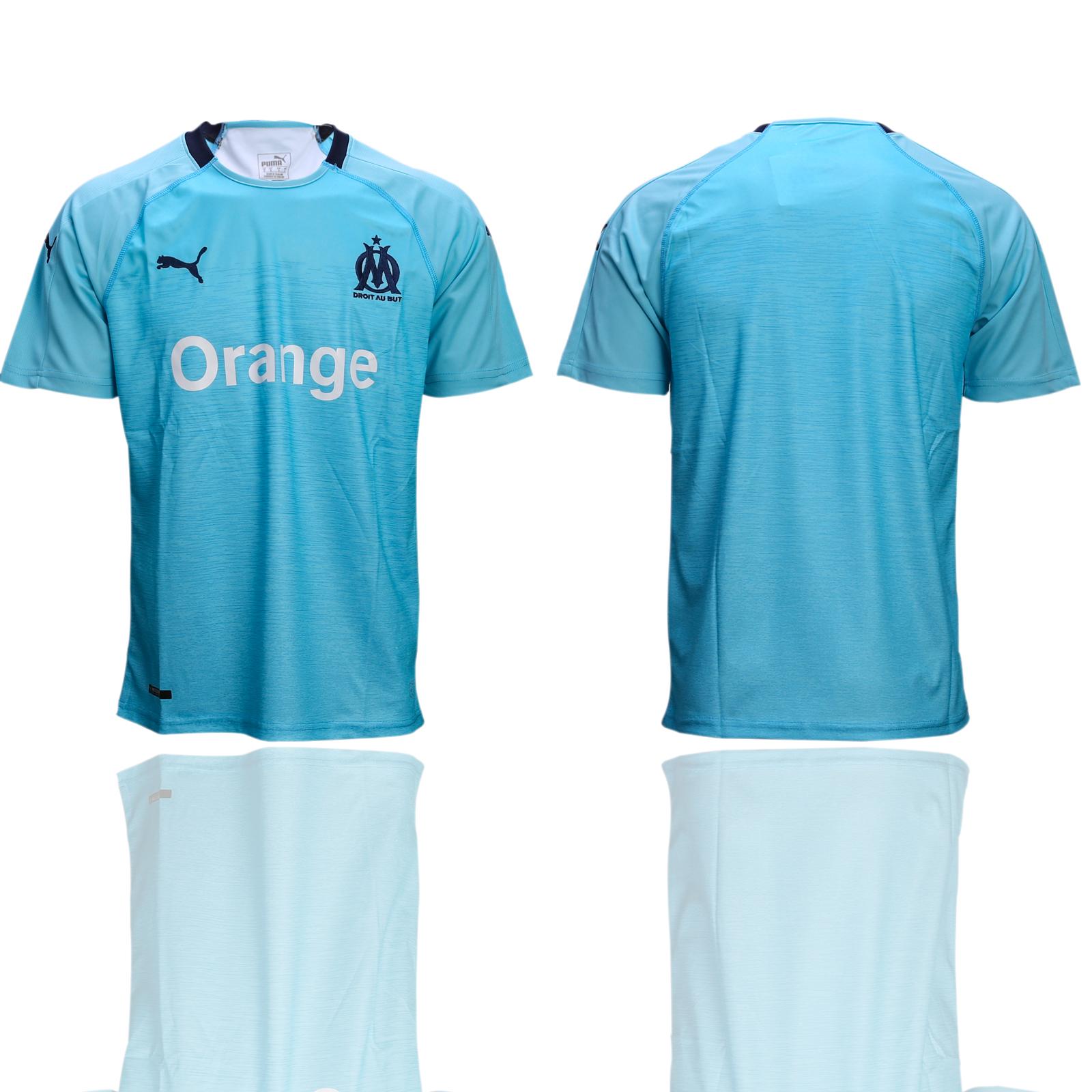 2018-19 Marseille Third Away Thailand Soccer Jersey