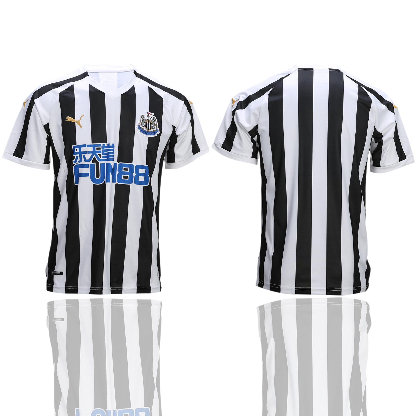 2018-19 Newcastle United Home Thailand Soccer Jersey