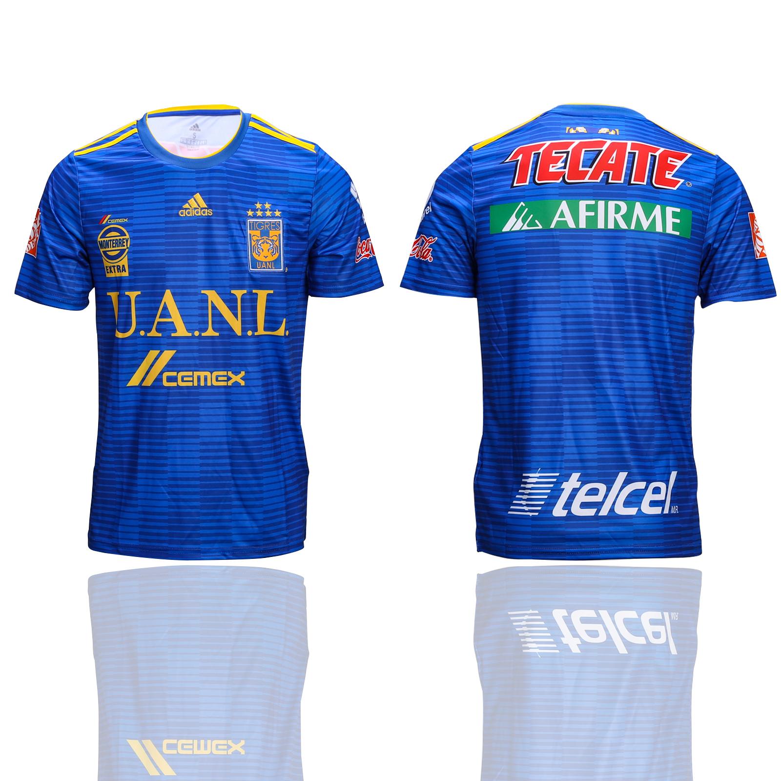 2018-19 Tigres UANL Away Thailand Soccer Jersey