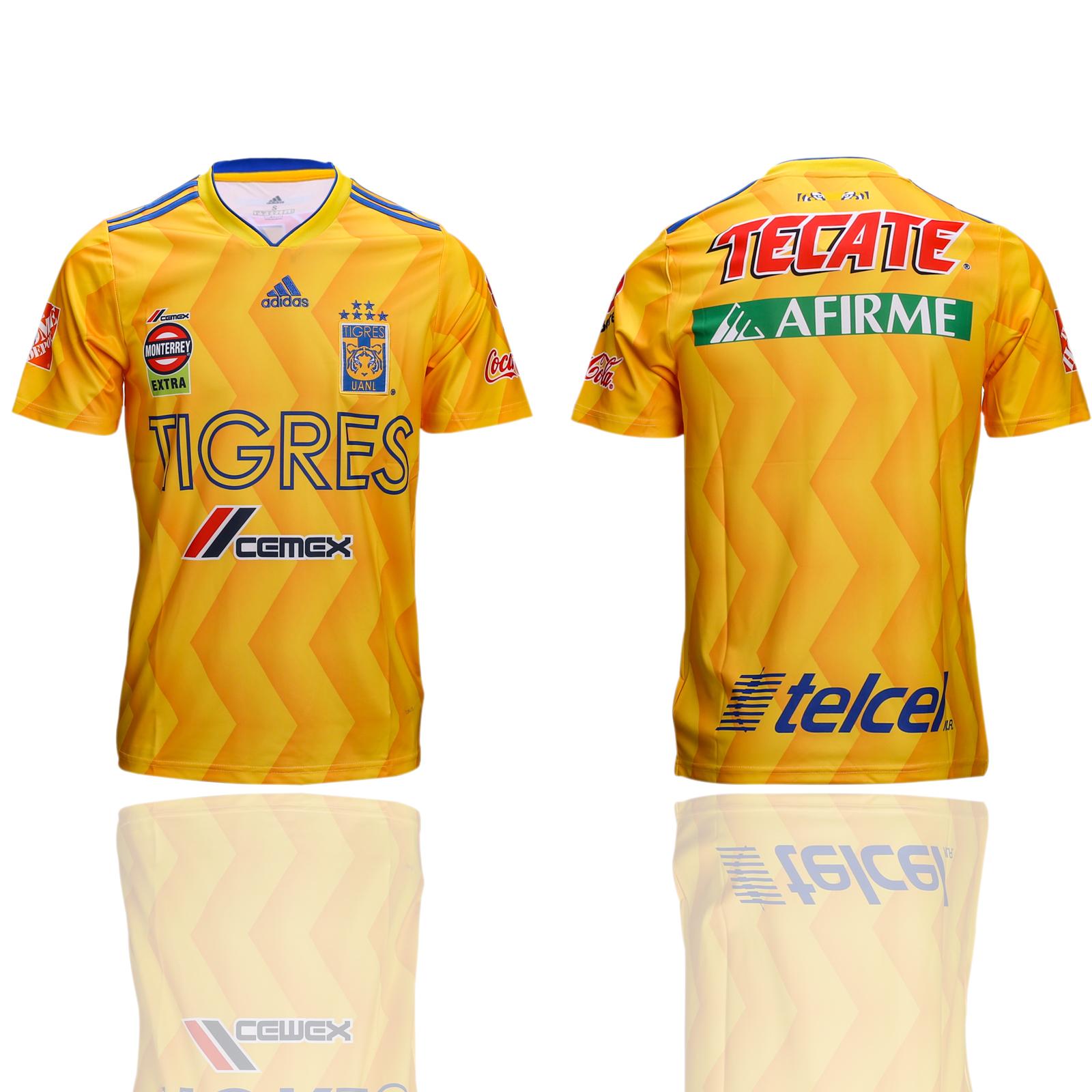 2018-19 Tigres UANL Home Thailand Soccer Jersey