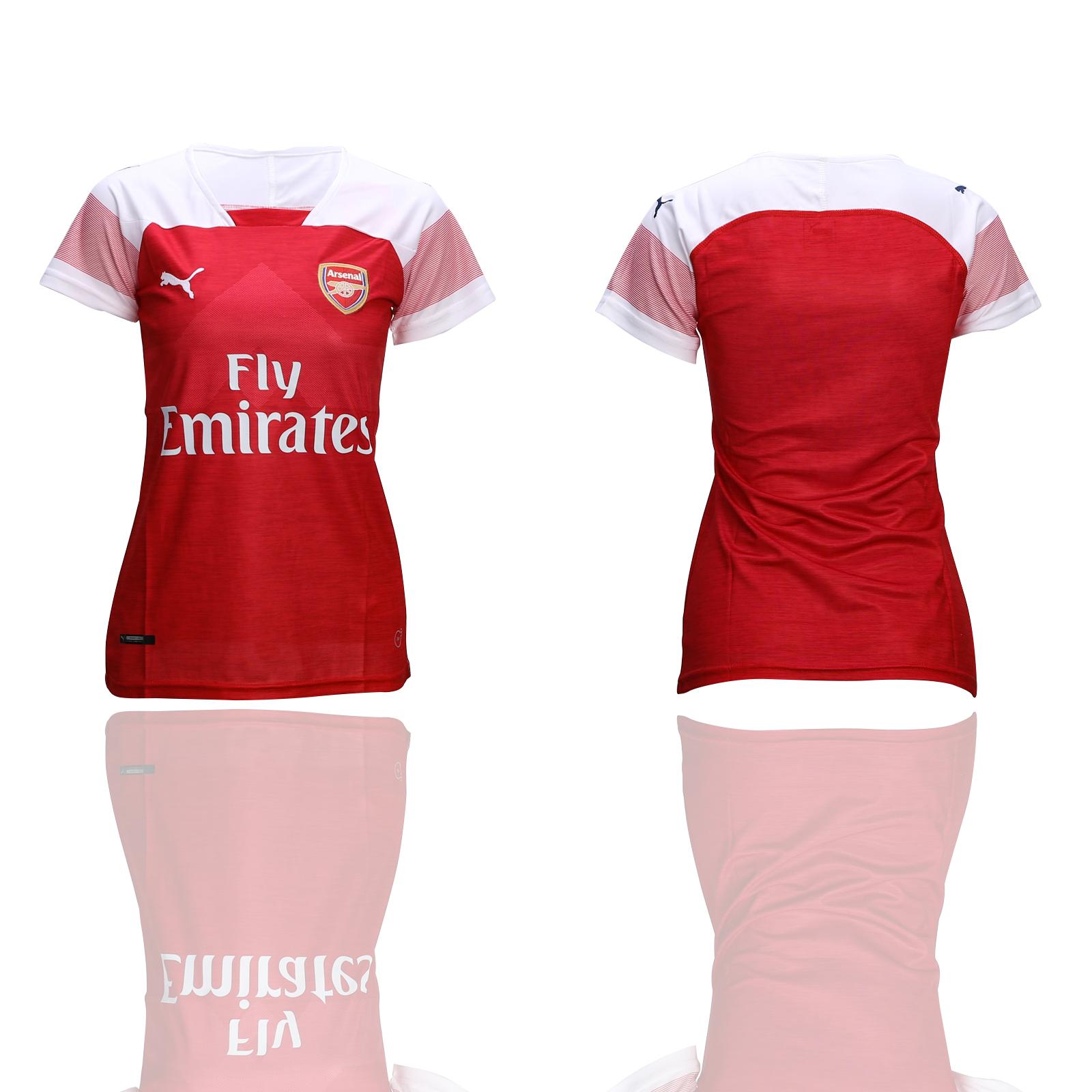 2018-19 Arsenal Home Women Soccer Jersey