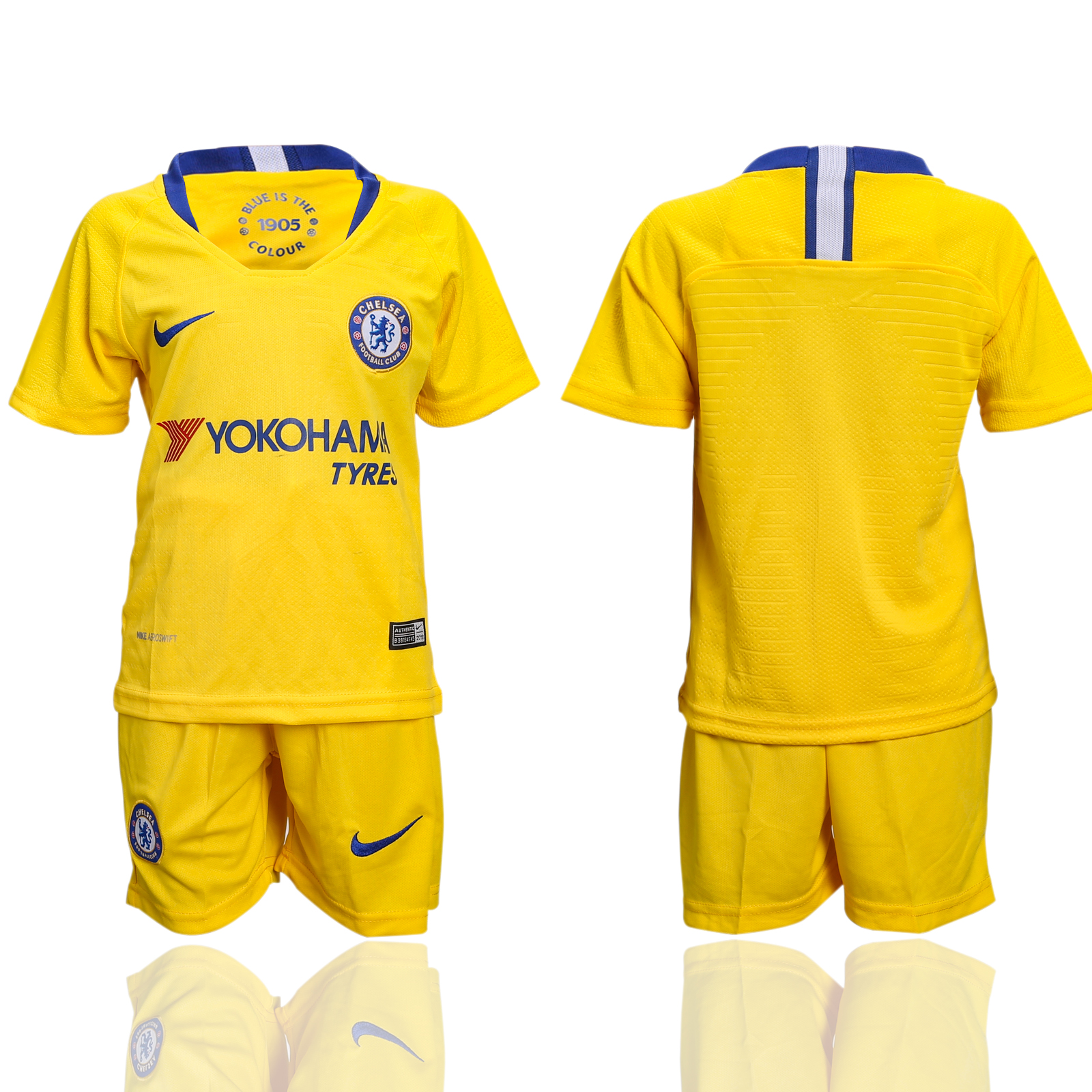 2018-19 Chelsea Away Youth Soccer Jersey