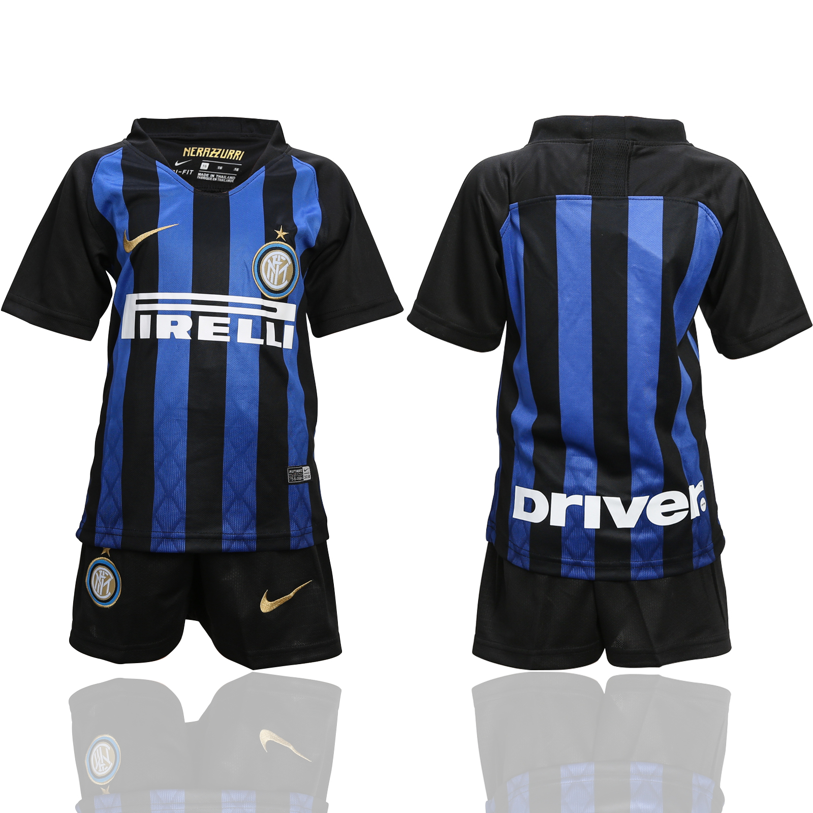 2018-19 Inter Milan Home Youth Soccer Jersey