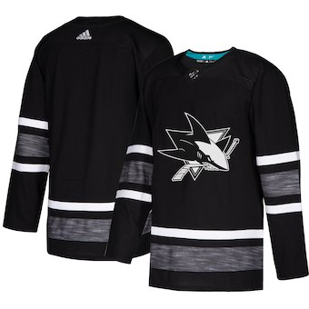 Sharks Black 2019 NHL All-Star Game Adidas Jersey