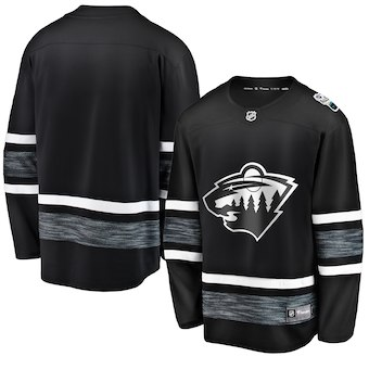 Wild Black 2019 NHL All-Star Game Adidas Jersey