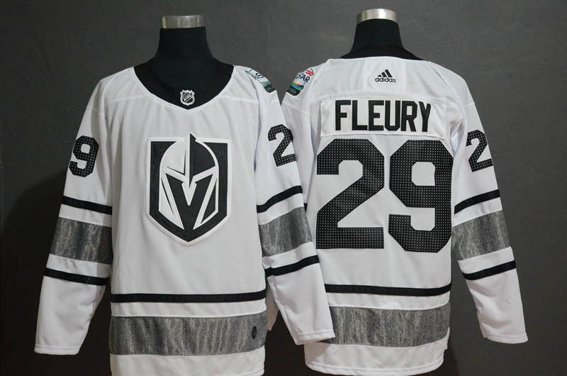 Vegas Golden Knights 29 Marc-Andre Fleury White 2019 NHL All-Star Game Adidas Jersey