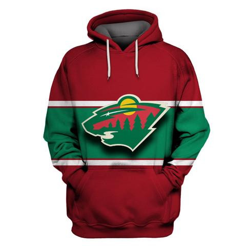 Wild Green All Stitched Hooded Sweatshirt