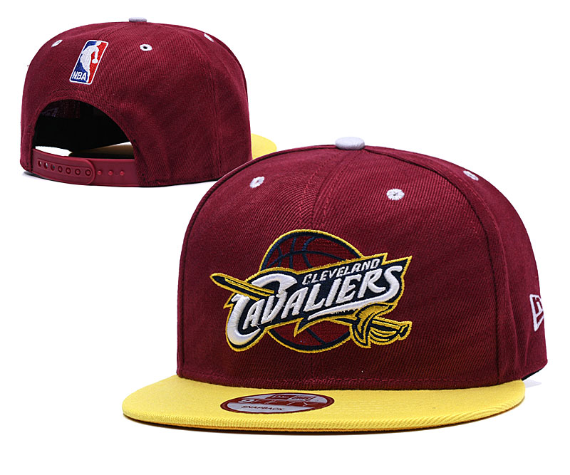 Cavaliers Team Logo Burgundy Adjustable Hat LH
