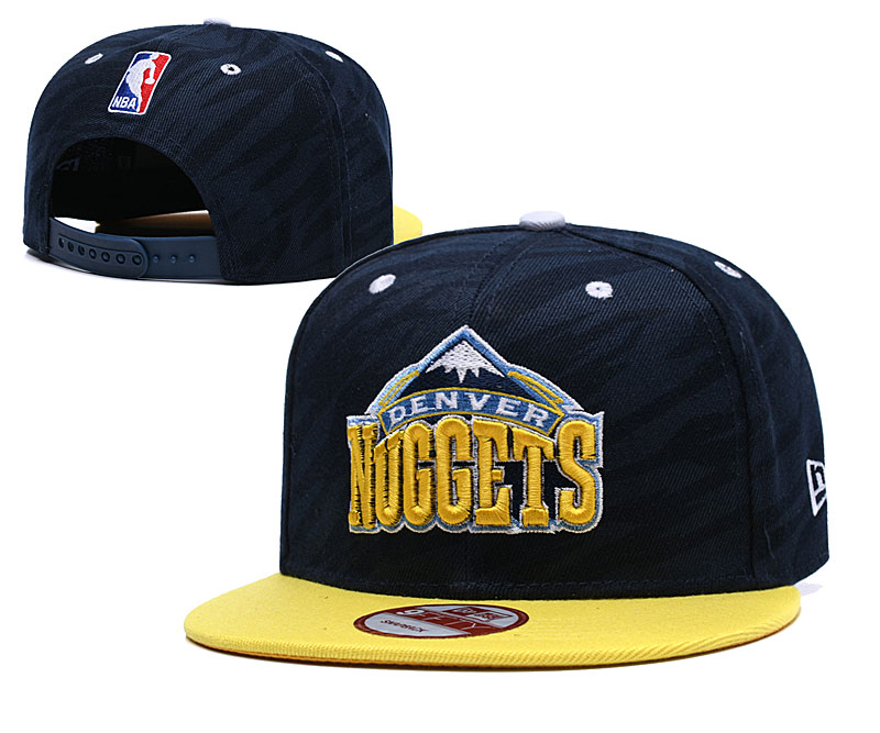 Nuggets Team Logo Navy Adjustable Hat LH