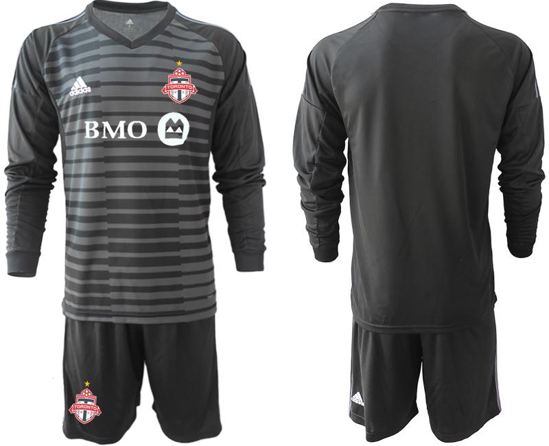 2018-19 Toronto FC Black Long Sleeve Soccer Jersey