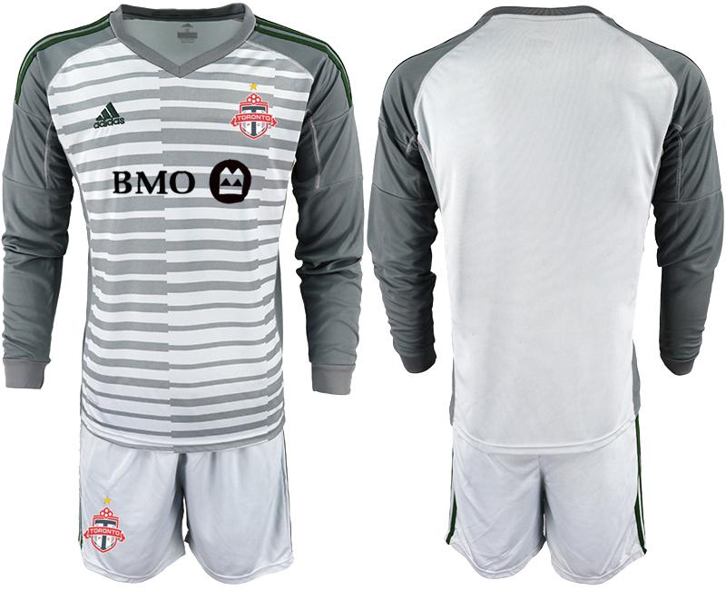 2018-19 Toronto FC Gray Long Sleeve Soccer Jersey