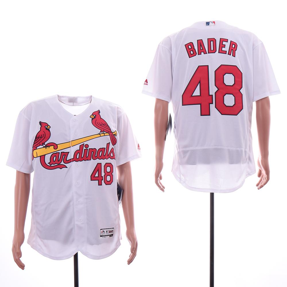 Cardinals 48 Harrison Bader White Flexbase Jersey