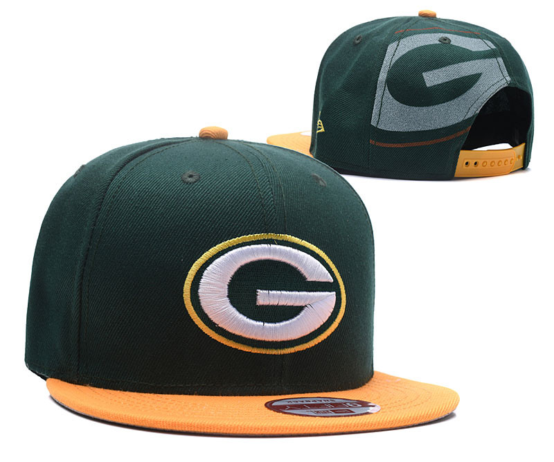Pakcers Team Logo Green Adjustable Hat LH