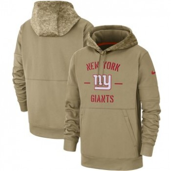 New York Giants 2019 Salute To Service Sideline Therma Pullover Hoodie