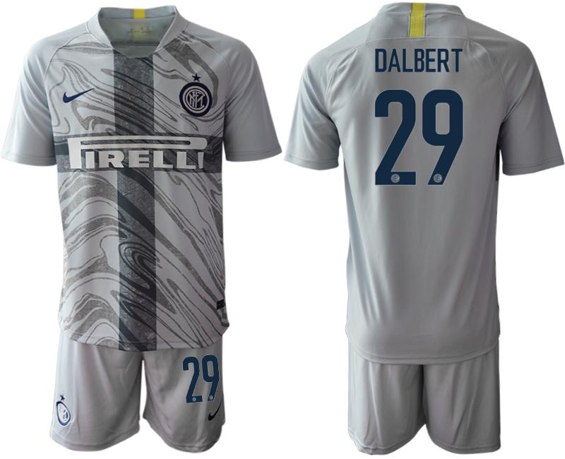 2018-19 Inter Milan 29 DALBERT Third Away Soccer Jersey