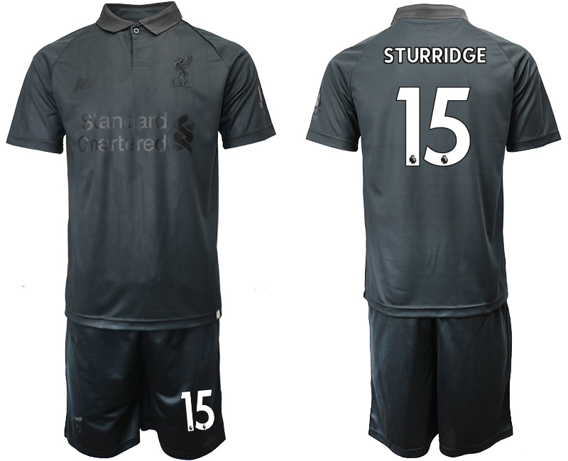 2018-19 Liverpool 15 STURRIDGE Black Goalkeeper Soccer Jersey
