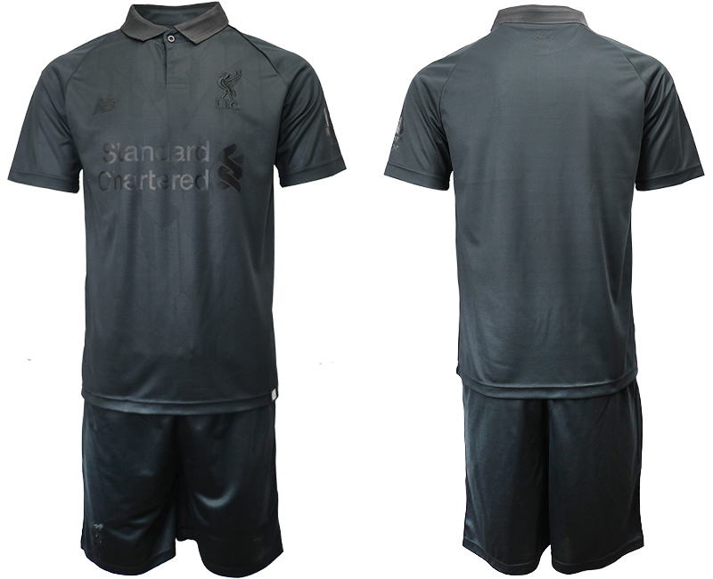 2018-19 Liverpool Black Goalkeeper Soccer Jersey