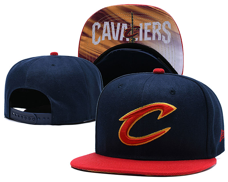 Cleveland Cavaliers Navy Adjustable Hat LH