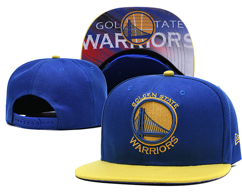 Golden State Warriors Blue Adjustable Hat LH