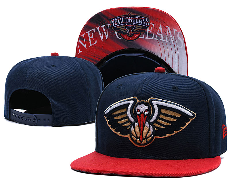 New Orleans Pelicans Navy Adjustable Hat LH