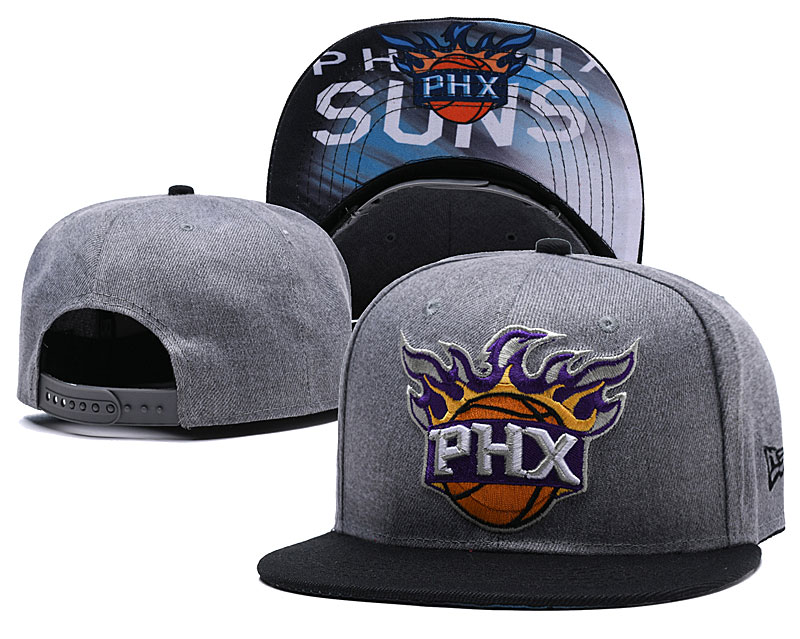 Phoenix Suns Gray Adjustable Hat LH