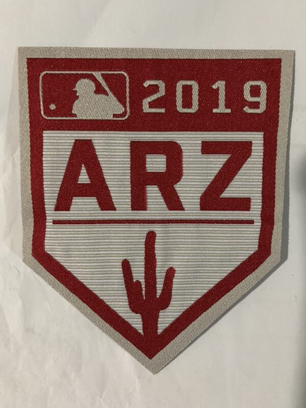 MLB 2019 Spring Training Cactus League Patch