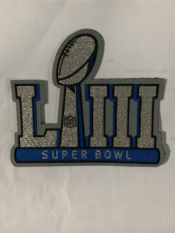 NFL 2019 Super Bowl LIII Patch