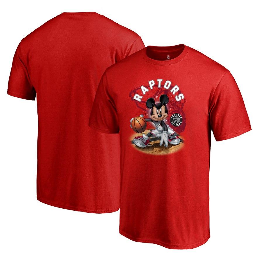 Toronto Raptors Fanatics Branded Disney NBA All-Star T-Shirt Red