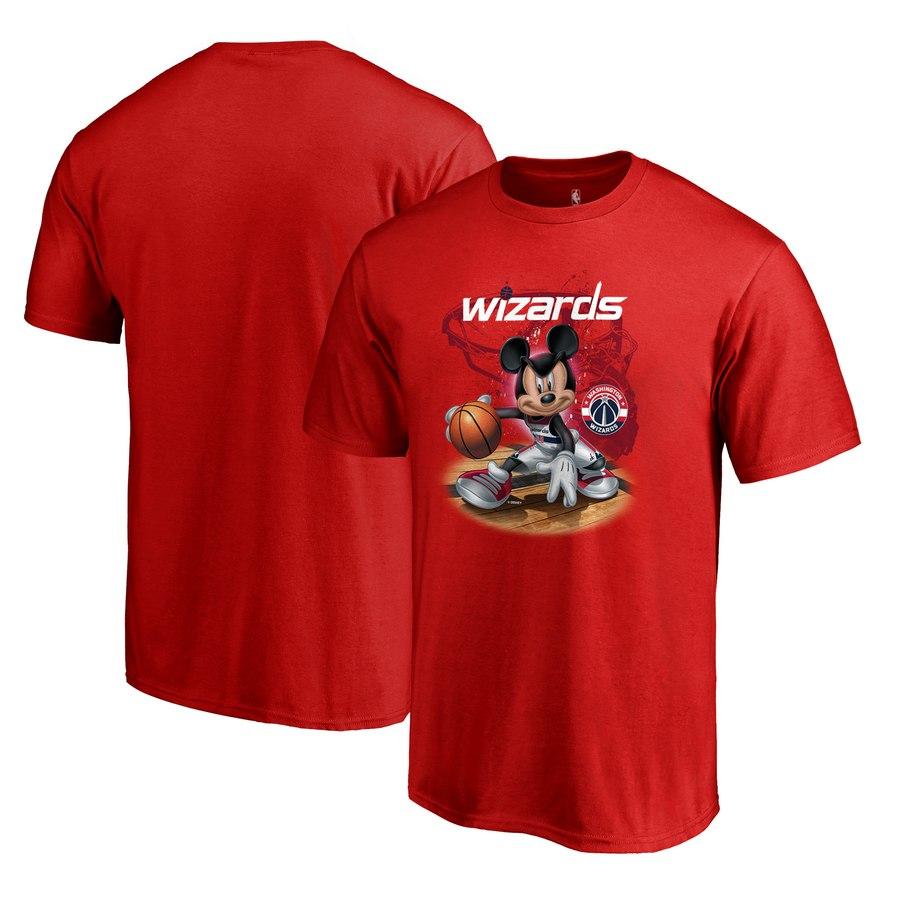 Washington Wizards Fanatics Branded Disney NBA All-Star T-Shirt Red