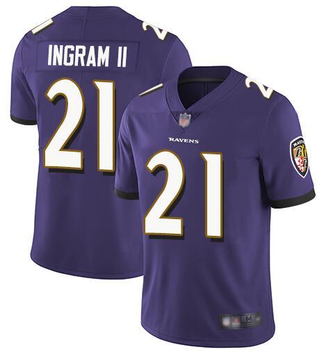 Nike Ravens 21 Mark Ingram II Purple Youth Vapor Untouchable Limited Jersey