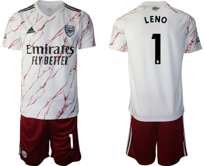 2020-21 Arsenal 1 LENO Away Soccer Jersey