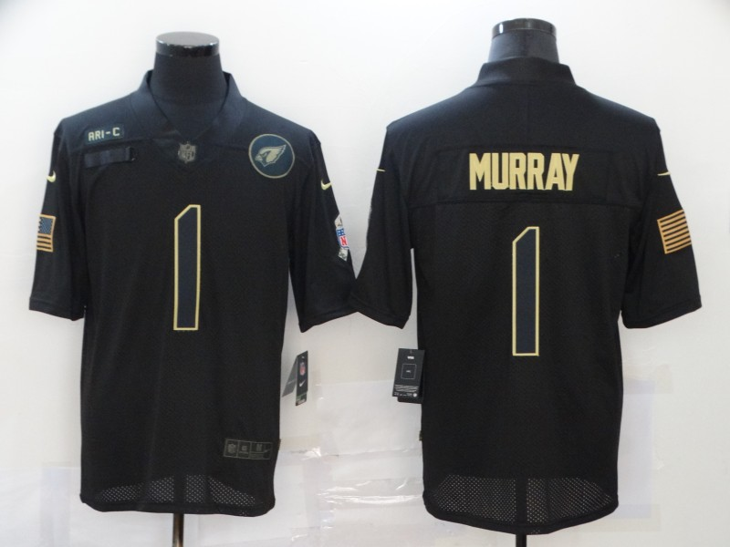 Nike Cardinals 1 Kyler Murray Black 2020 Salute To Service Limited Jersey