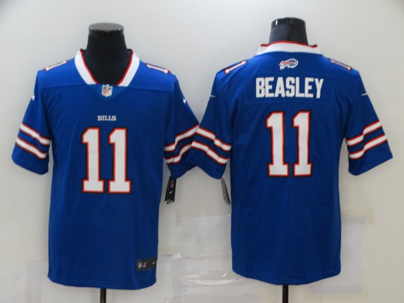 Nike Bills 11 Cole Beasley Royal Vapor Untouchable Limited Jersey