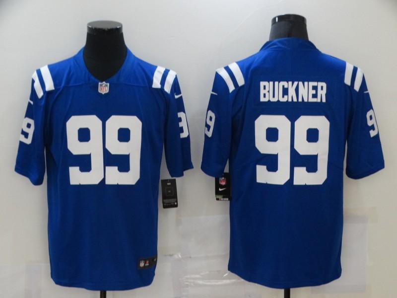 Nike Colts 99 DeForest Buckner Royal Vapor Untouchable Limited Jersey
