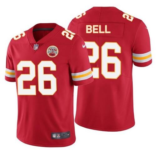 Nike Chiefs 26 Le'Veon Bell Red Vapor Untouchable Limited Jersey