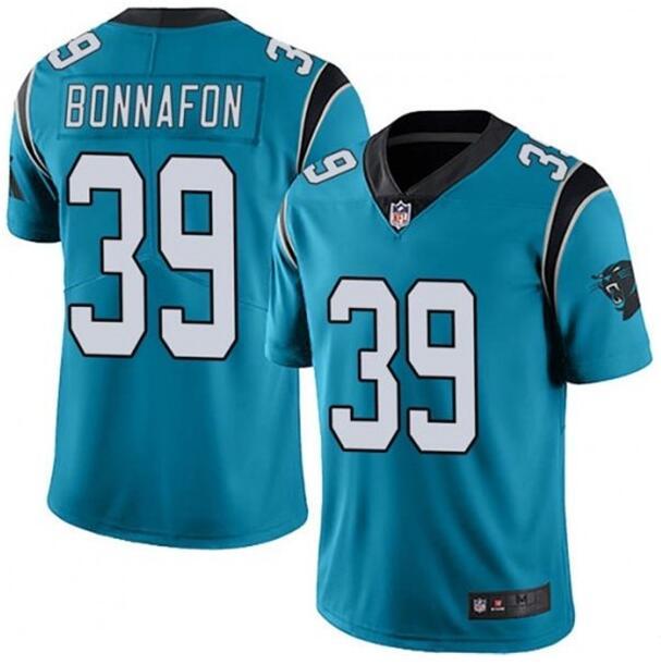 Nike Panthers 39 Reggie Bonnafon Blue Vapor Untouchable Limited Jersey
