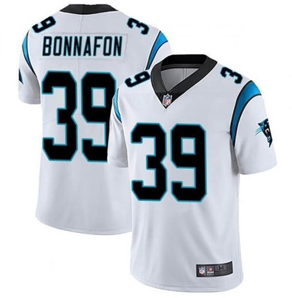 Nike Panthers 39 Reggie Bonnafon White Vapor Untouchable Limited Jersey