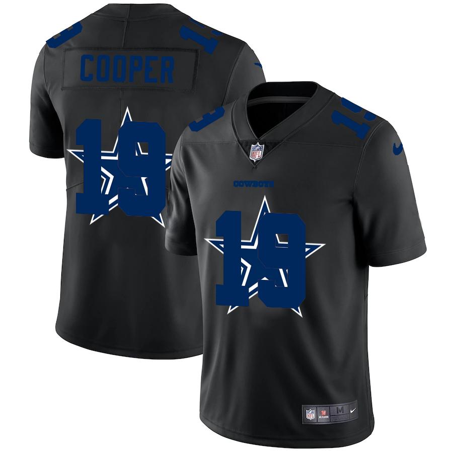 Nike Cowboys 19 Amari Cooper Black Shadow Logo Limited Jersey