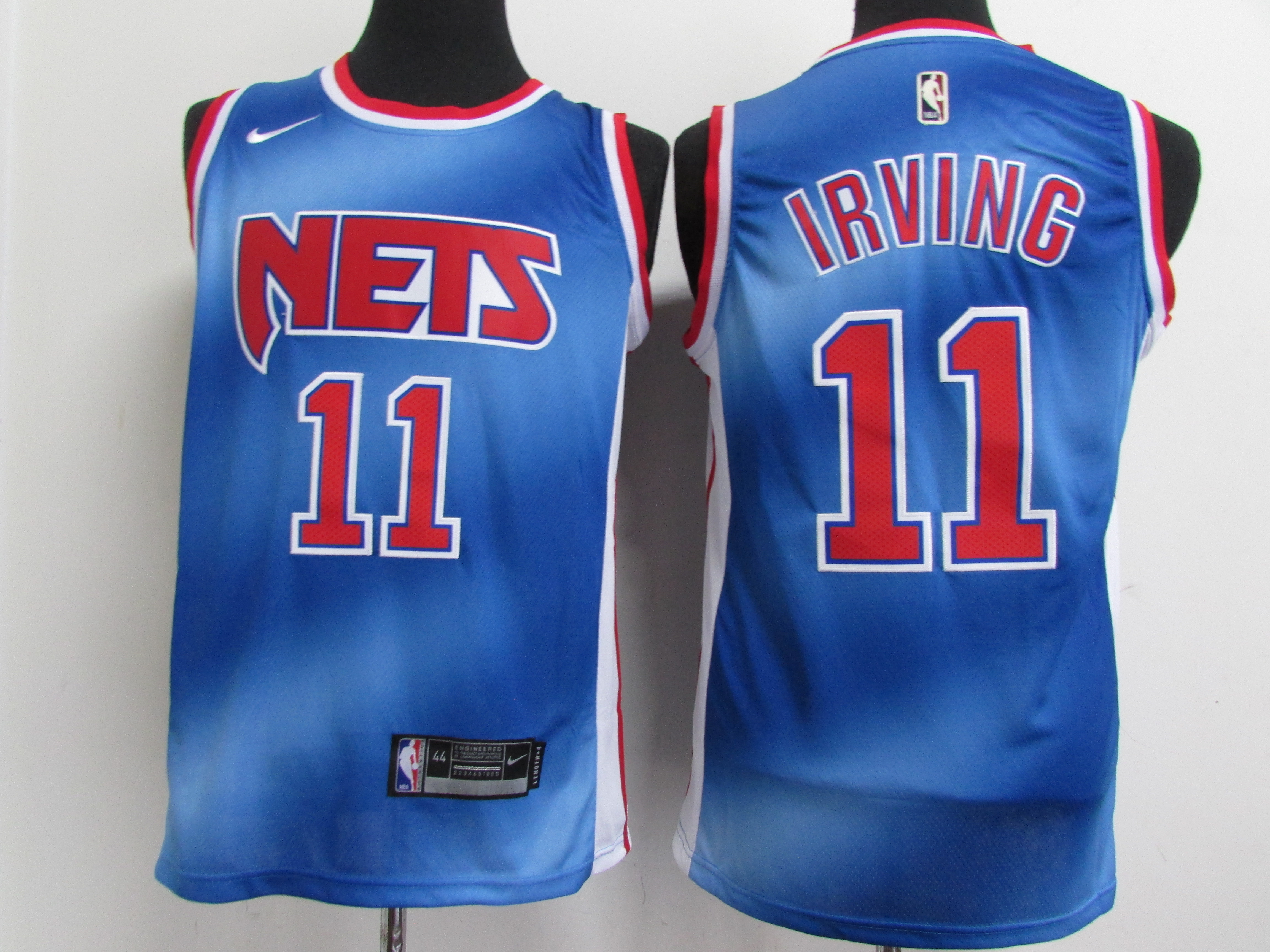 Nets 11 Kyrie Irving Blue 2021 Nike Classic Edition Swingman Jersey