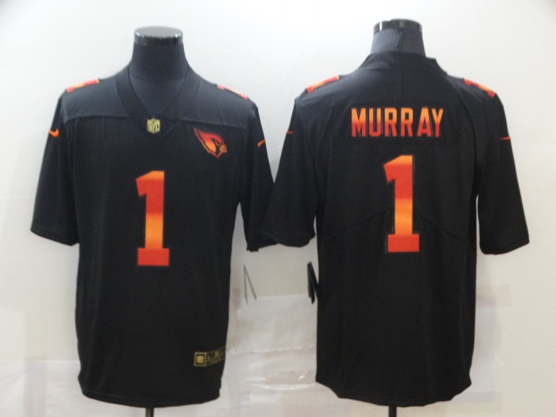 Nike Cardinals 1 Kyler Murray Black Colorful Fashion Limited Jersey