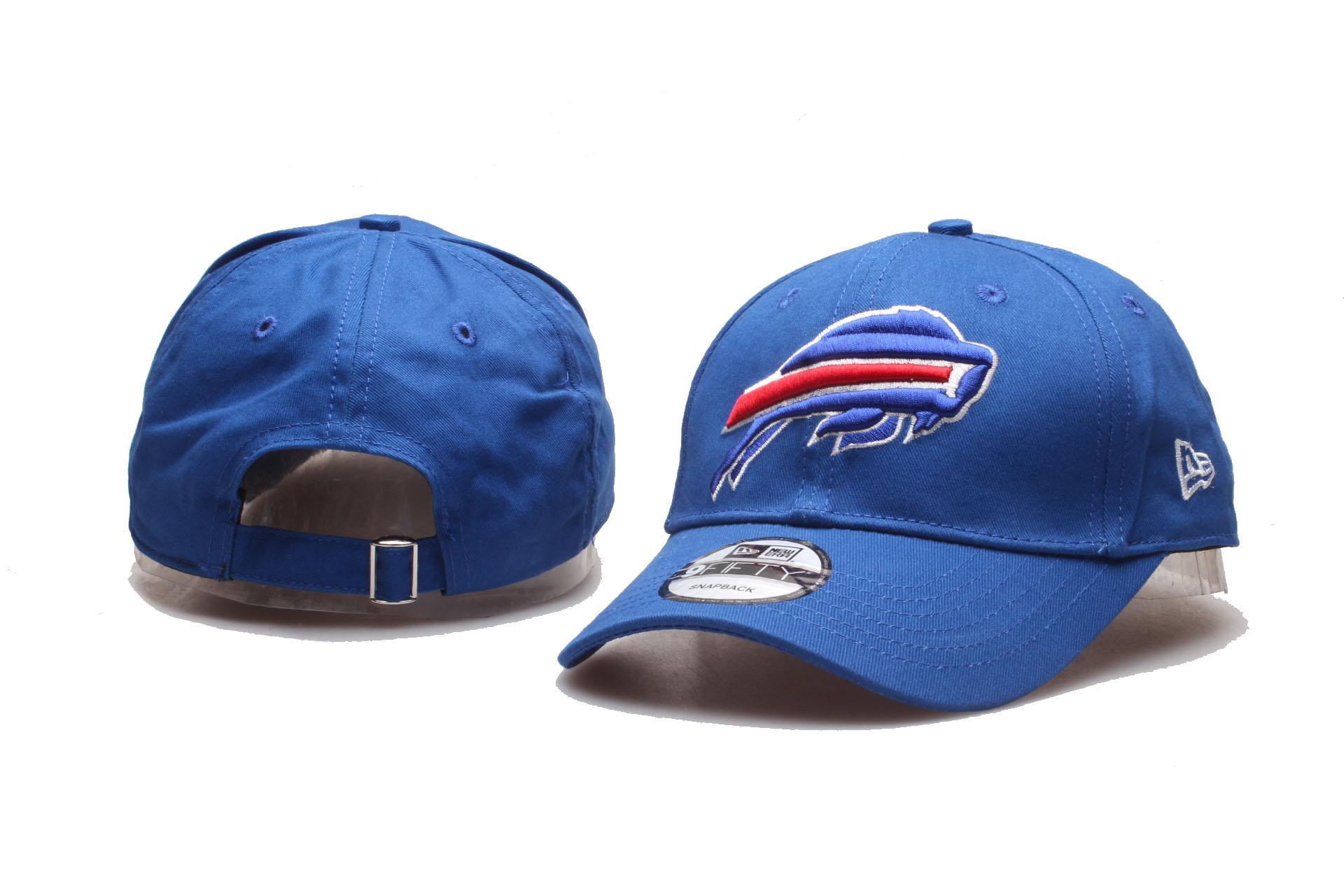 Bills Team Logo Royal Peaked Adjustable Hat YP