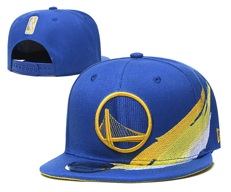 Warriors Team Logo Blue Adjustable Hat YD