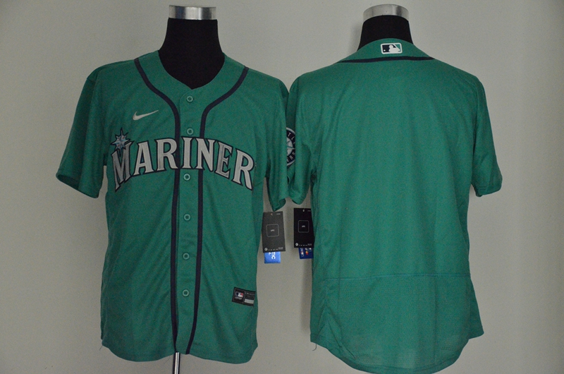 Mariners Blank Green Cool Base Jersey