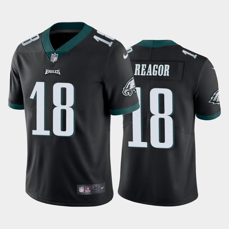 Nike Eagles 18 Jalen Reagor Black 2020 NFL Draft First Round Pick Vapor Untouchable Limited Jersey