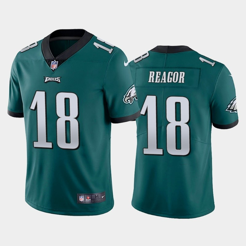 Nike Eagles 18 Jalen Reagor Green 2020 NFL Draft First Round Pick Vapor Untouchable Limited Jersey