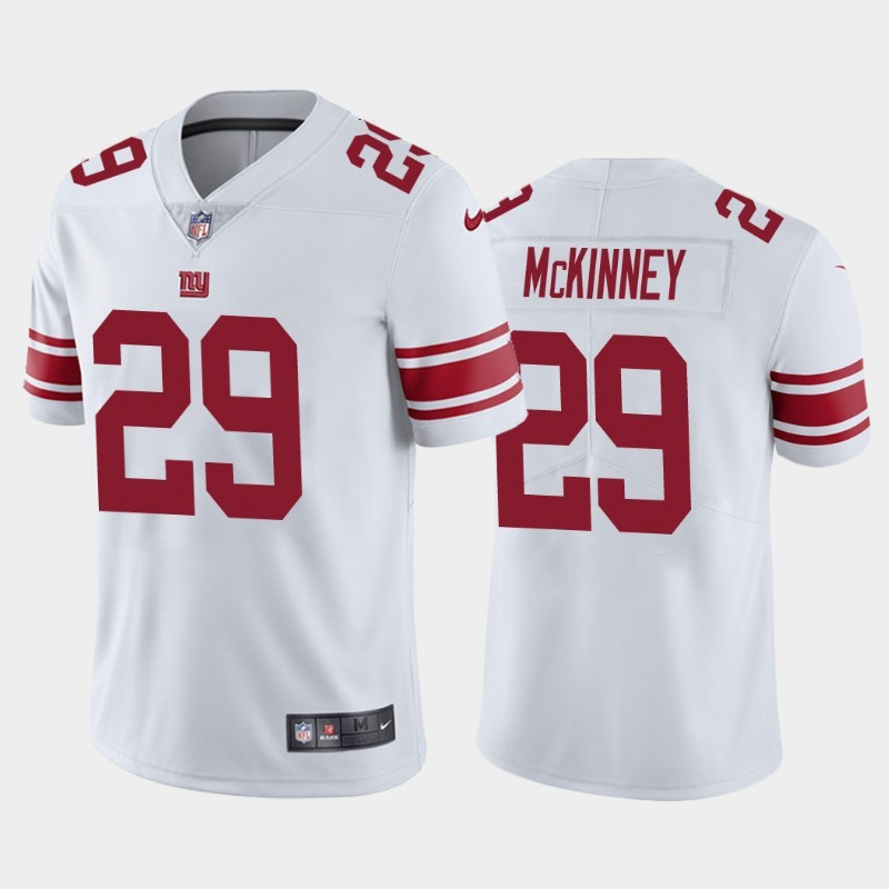 Nike Giants 29 Xavier McKinney White 2020 NFL Draft First Round Pick Vapor Untouchable Limited Jersey