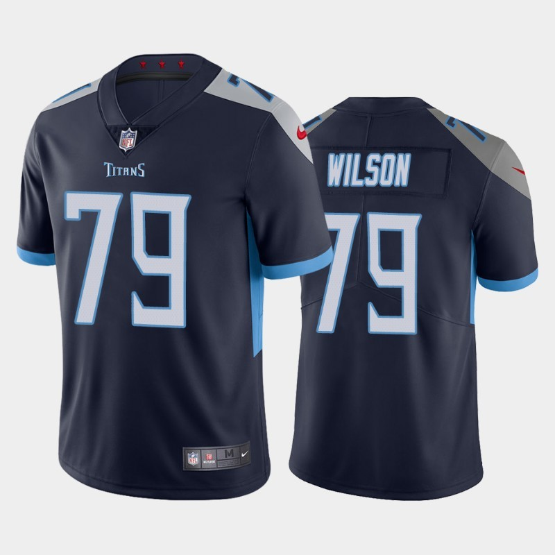 Nike Titans 79 Isaiah Wilson Navy 2020 NFL Draft First Round Pick Vapor Untouchable Limited Jersey
